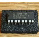 4511 ( HEF 4511 BP = BCD to 7-segment latch / decoder / driver